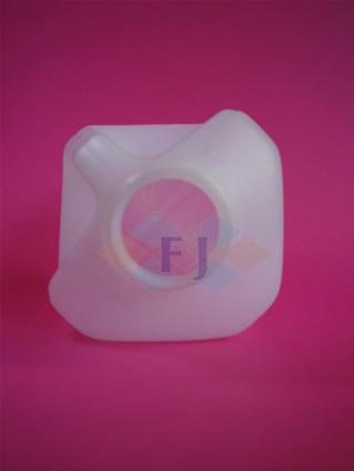 Envase plástico con capacidad de un cuarto de galón para jugo o leche