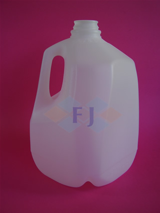 Envase plástico con capacidad 1 galón 120g tapa 35mm para jugo o leche